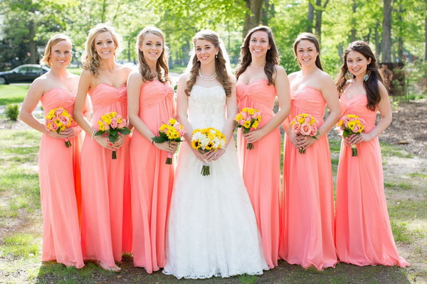 bridal gowns and bridesmaids dresses | Gommap Blog